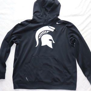 Michigan State Nike Therma-Fit Hoodie